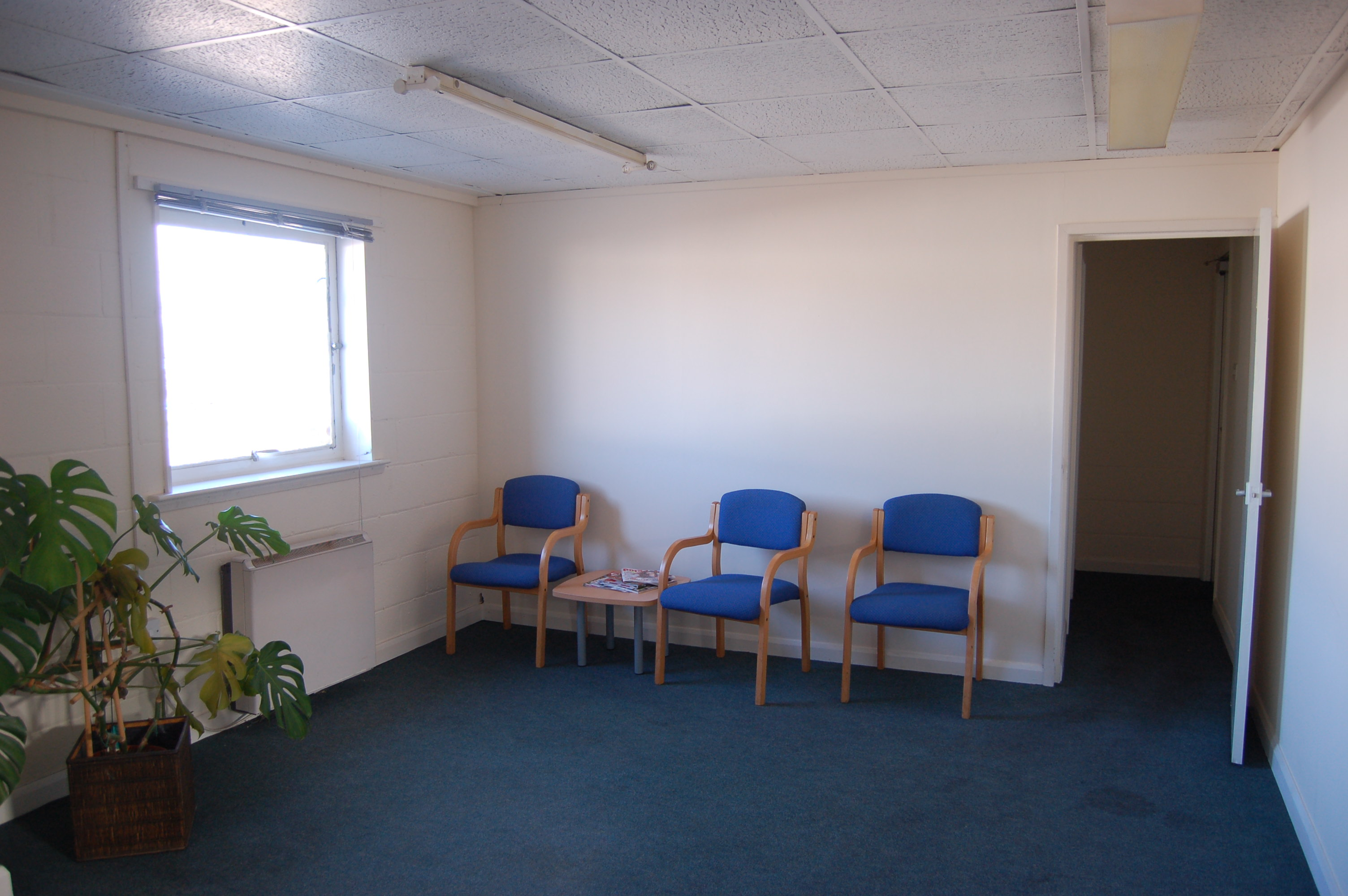 Client's waiting area