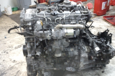 2.2 Toyota diesel engine built back